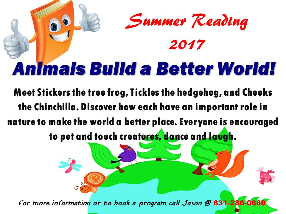 Summer Reading Slide 2017